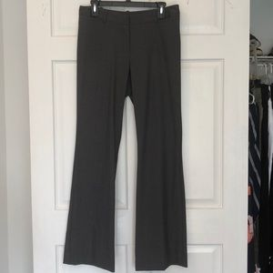 Pants - NEW heather grey business pants boot cut - size 6
